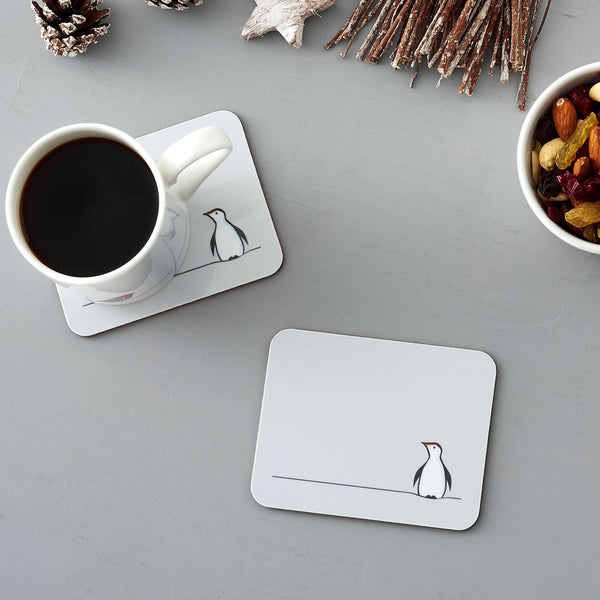 Winter Collection Coasters, Penguin