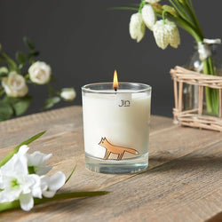 Fox Candle - Amber Ramblings Scent