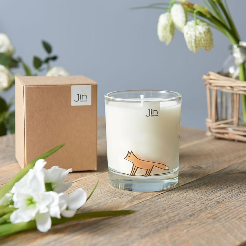 Fox Candle with Gift Box