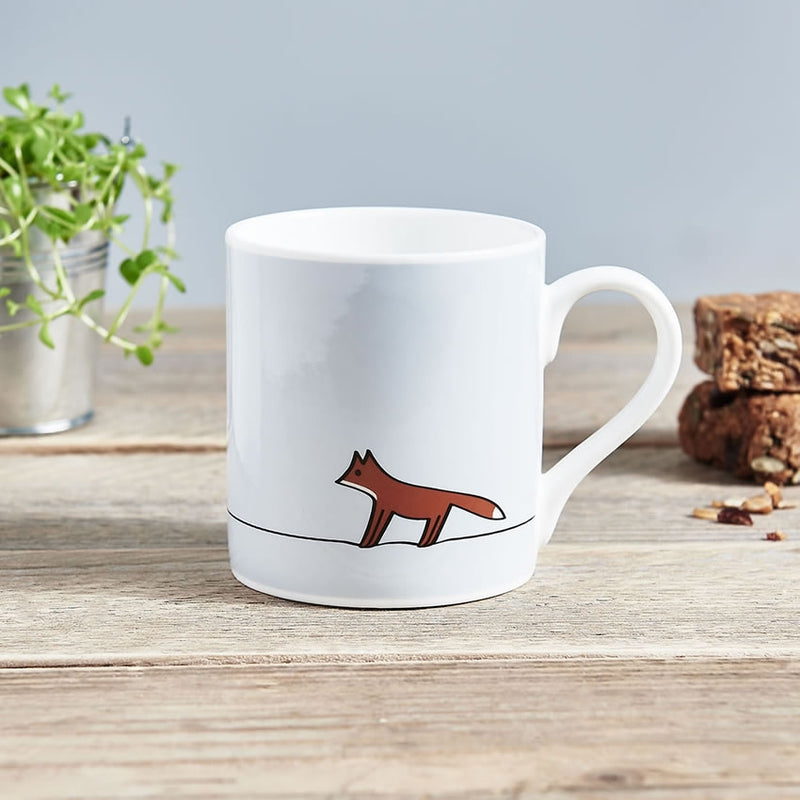 Fox Mug, Fine Bone China