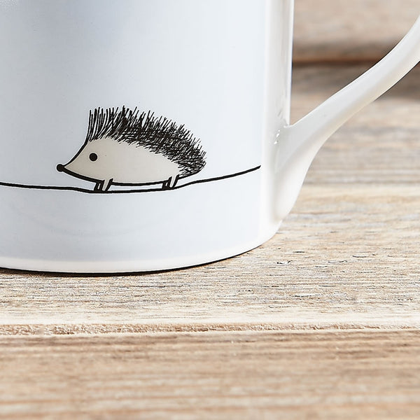 Hedgehog Mug, Fine Bone China