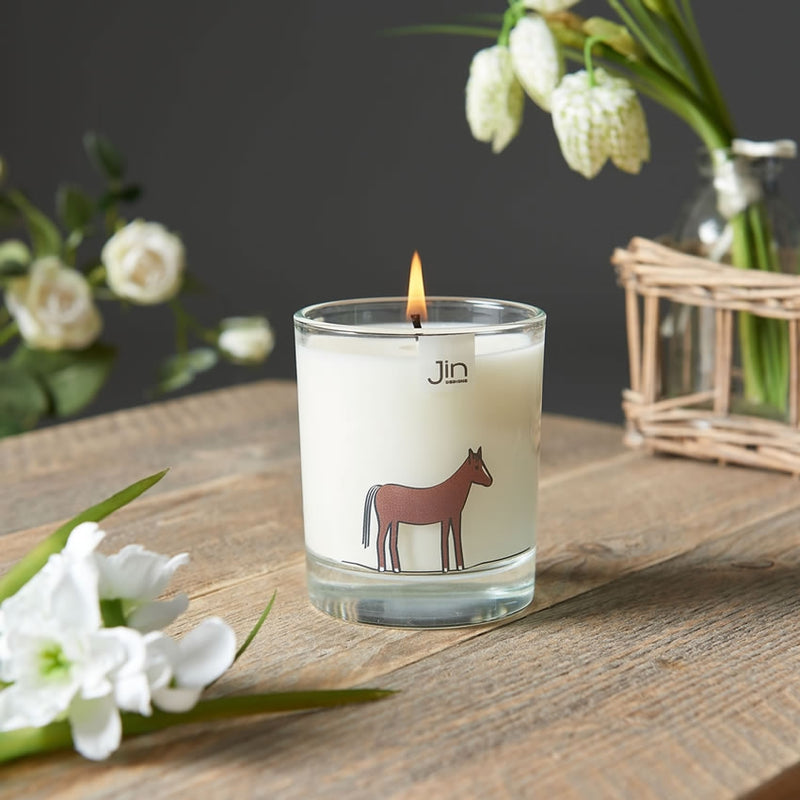 Horse Candle - Fresh Meadows - Luxury Scented Candle