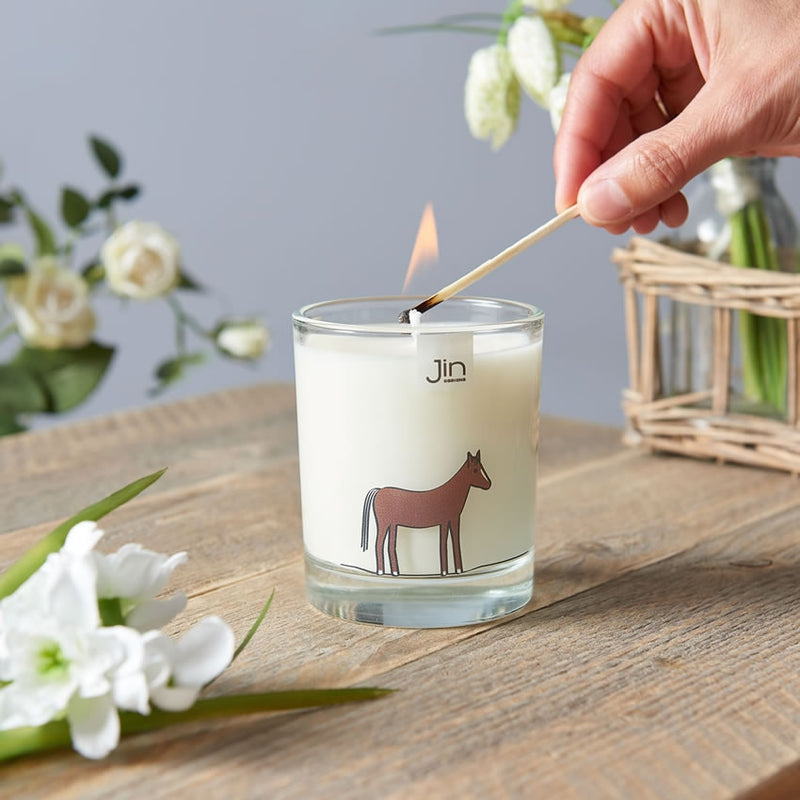 Horse Candle in Action