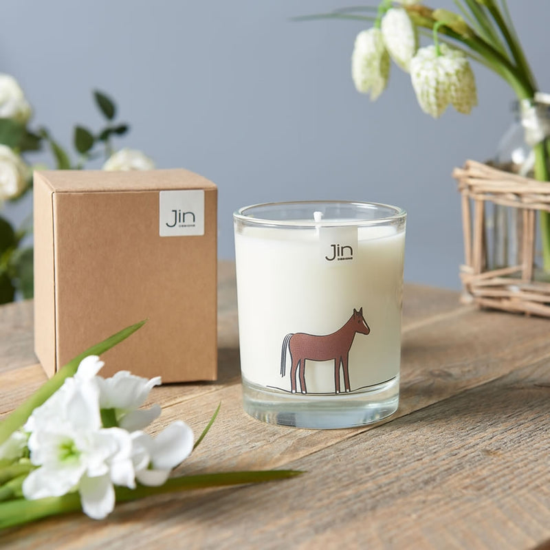 Horse Candle with Gift Box