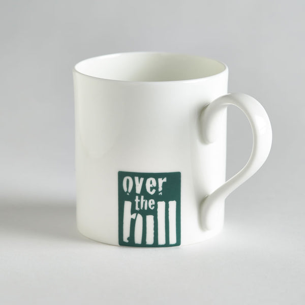 Over The Hill Fine Bone China Mug