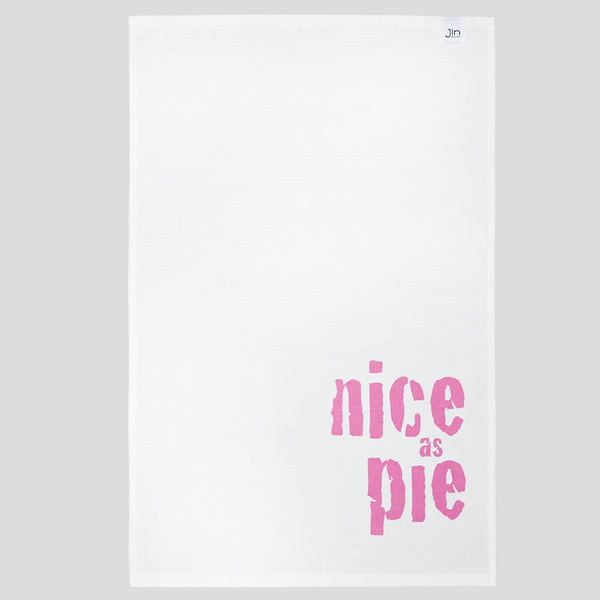 Nice as Pie Tea Towel