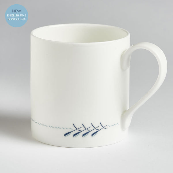 Rowing Boat Mug, English Fine Bone China