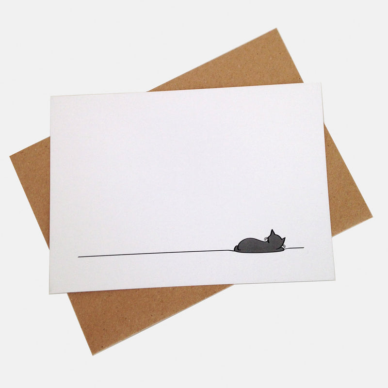 Sleeping Cat Notecard Pack