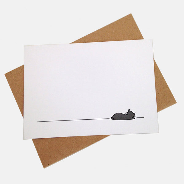 Sleeping Cat Notecards