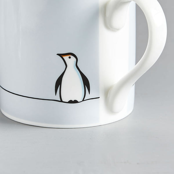 Penguin Mug, Fine Bone China, Penguin Gift