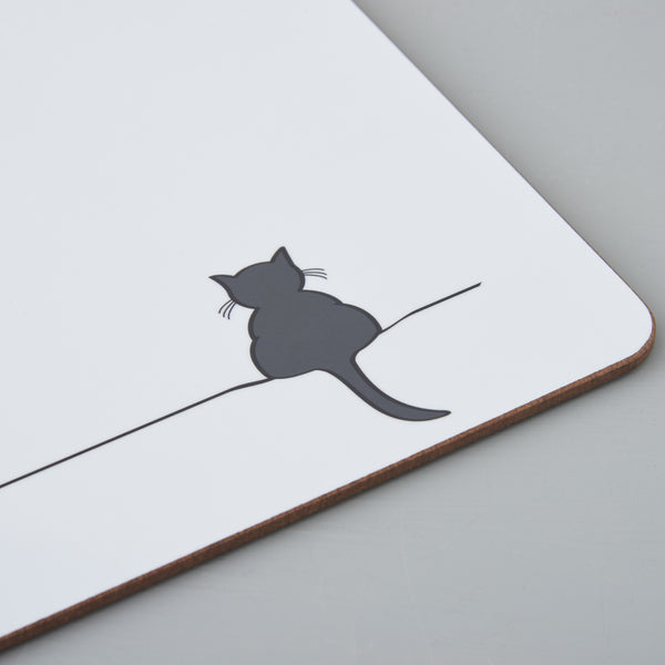 Crouching Cat Placemat