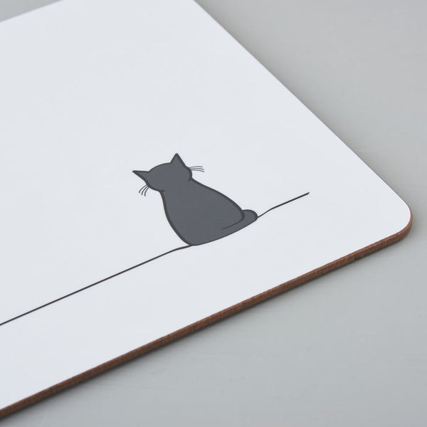 Sitting Cat Placemat