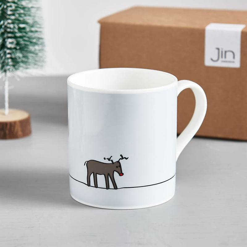 Reindeer Mug, Part of the Winter Collection