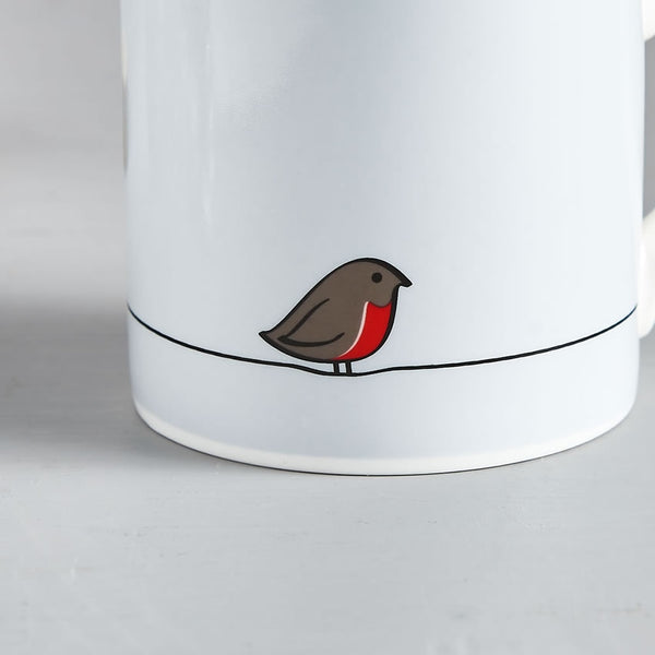 Robin Mug - Close Up