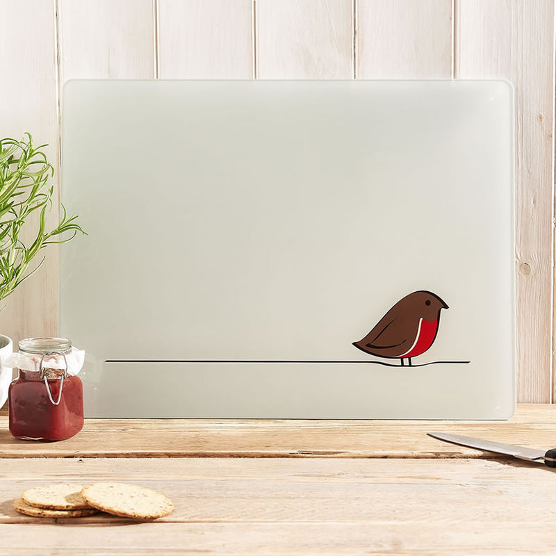 Robin Glass Chopping Board