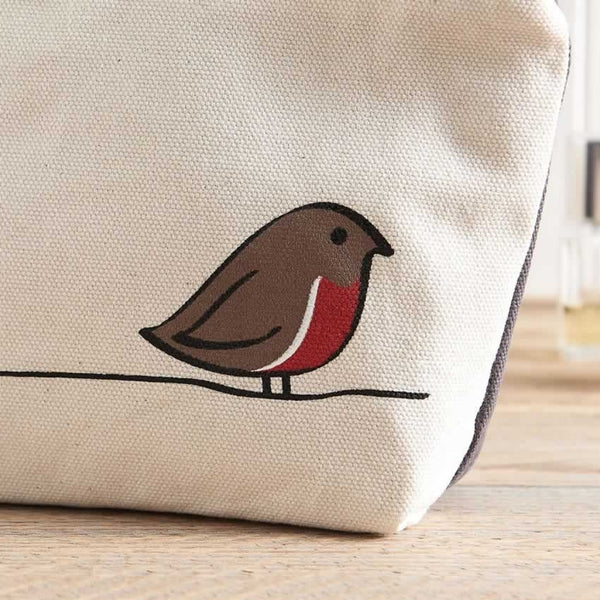 Robin Zip Bag - Close Up