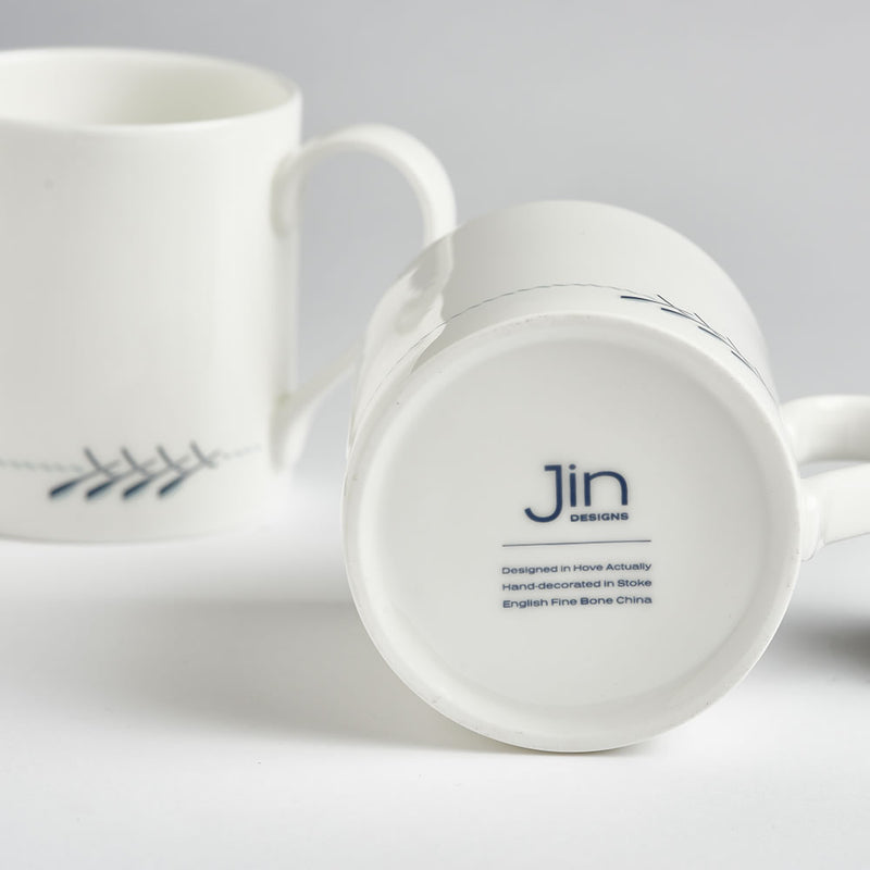 Rowing Boat Mug with Backstamp