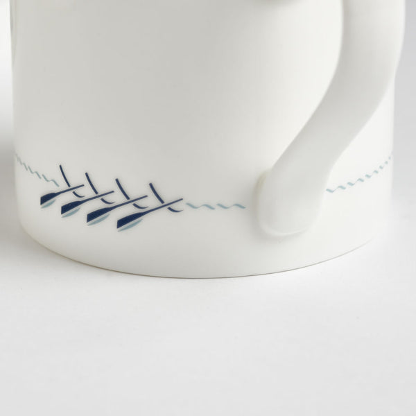 Rowing Boat Mug Close up
