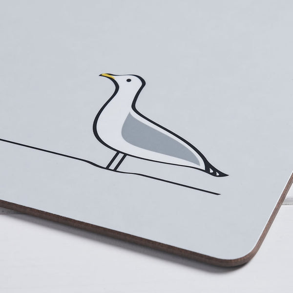 Seagull Placemat Closeup