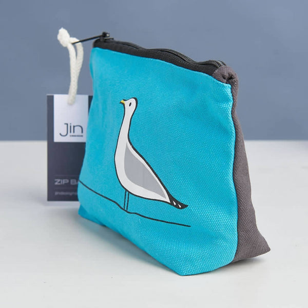 Seagull Zip Bag Close Up