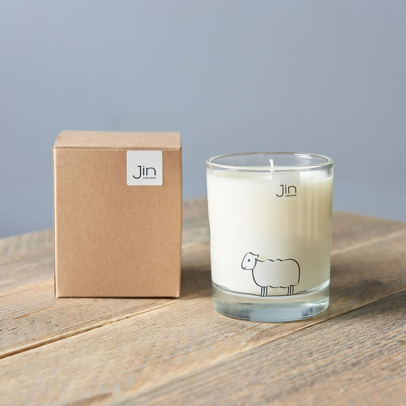 Sheep Candle with Gift Box