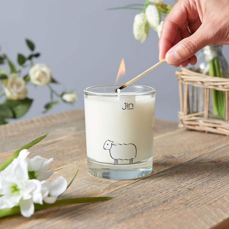 Sheep Candle in Action