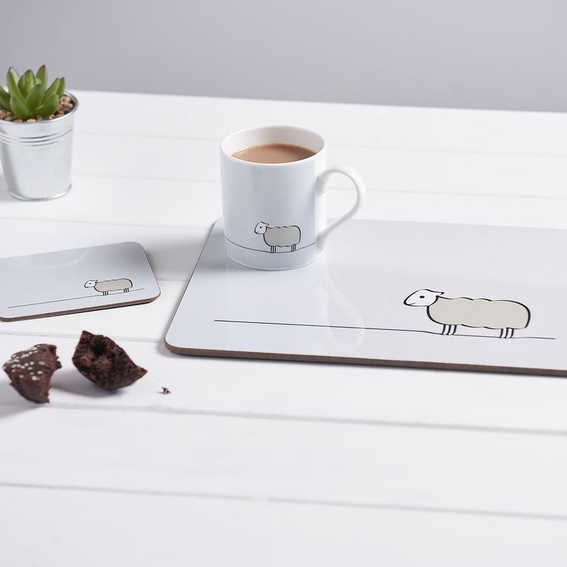 Sheep Collection with Mug and Placemat