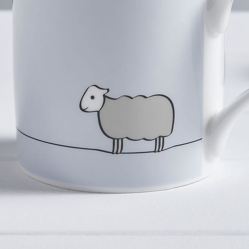 Sheep Mug, Fine Bone China, Sheep Gift