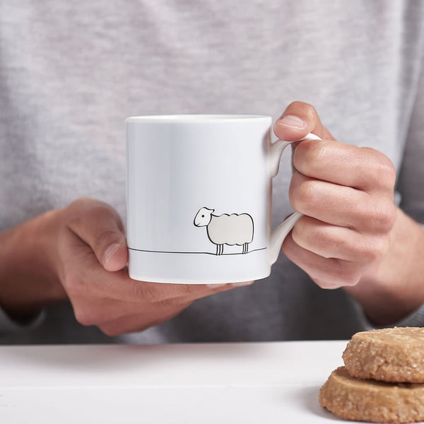 Sheep Mug in Action