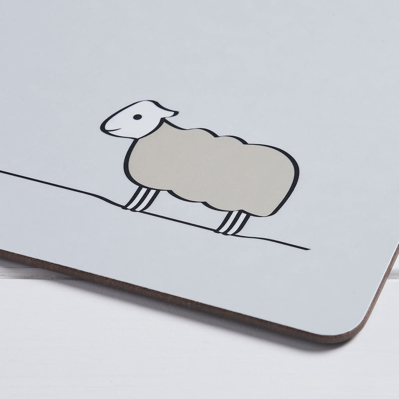 Sheep Coaster, Close up