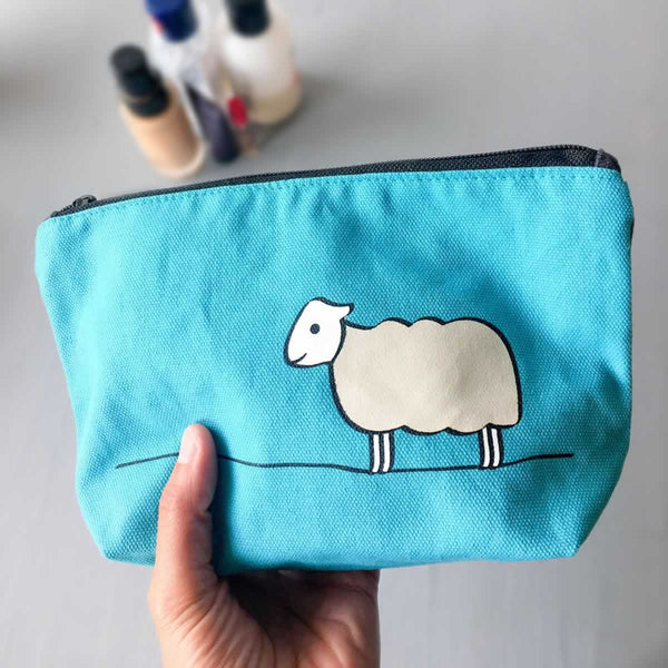 Sheep Zip Bag