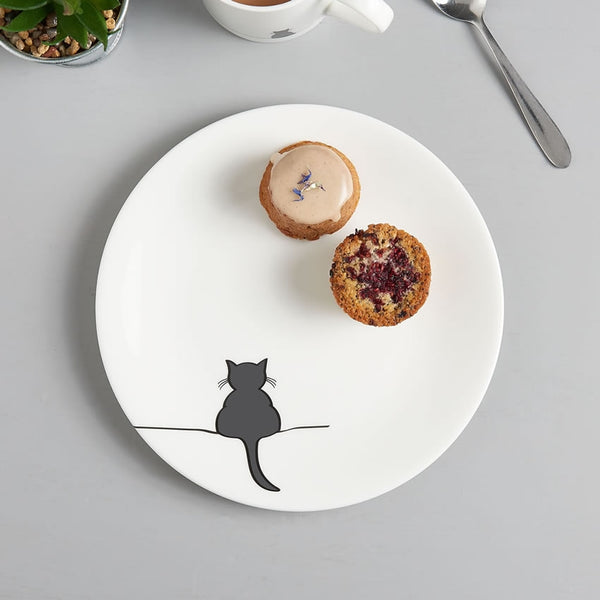 Crouching Cat Side Plate