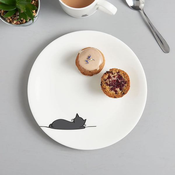 Sleeping Cat Side Plate