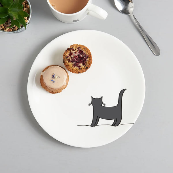 Standing Cat Side Plate