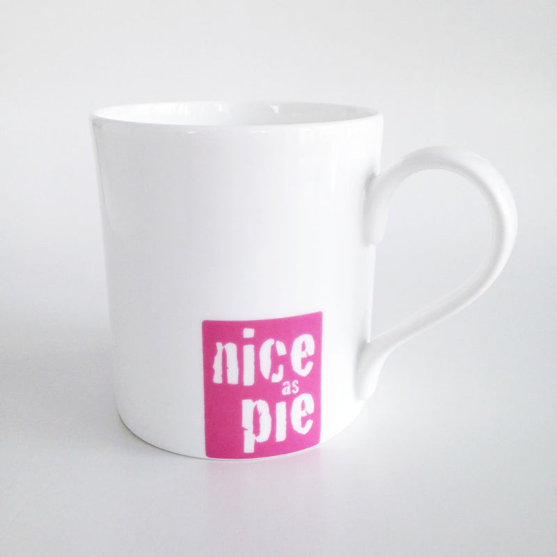 Nice As Pie Fine Bone China Mug