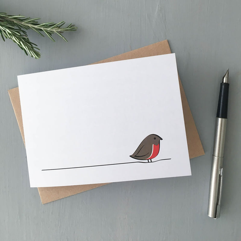 Robin Card, Part of the Winter Collection