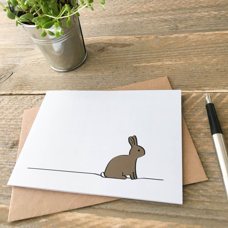 Card with Rabbit