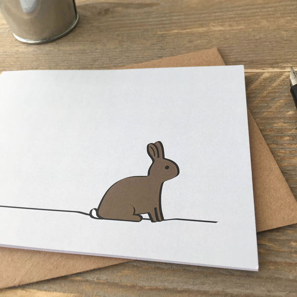 Close up of Rabbit Card