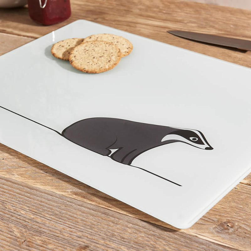 Badger Glass Chopping Board