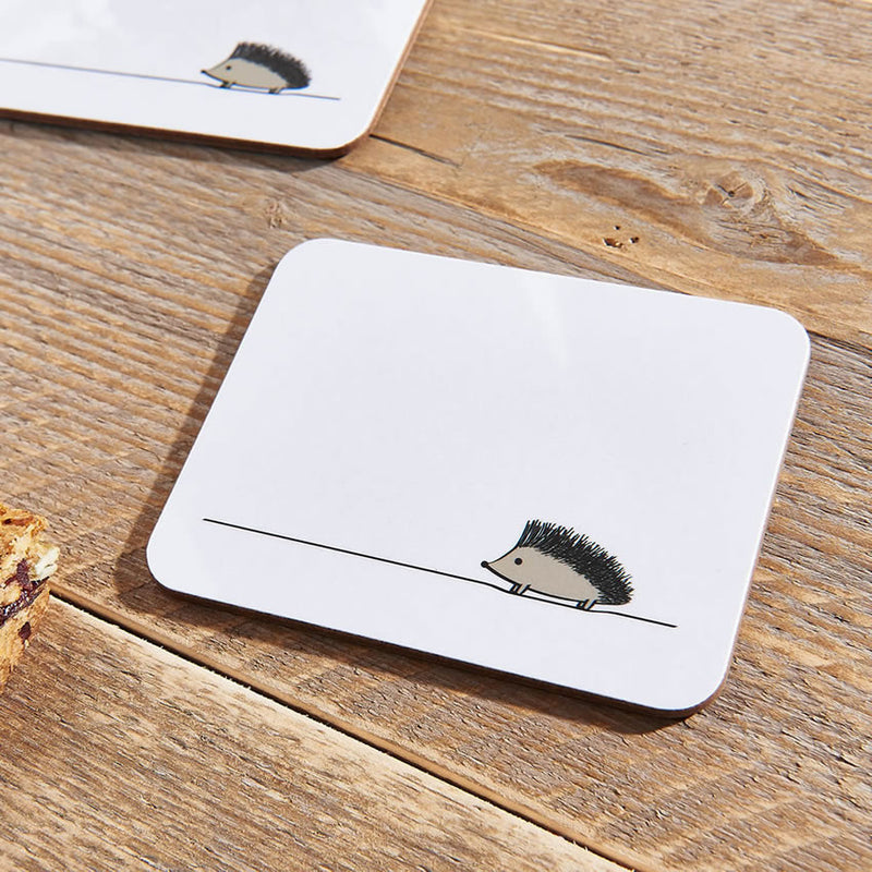 Hedgehog Coasters Close Up