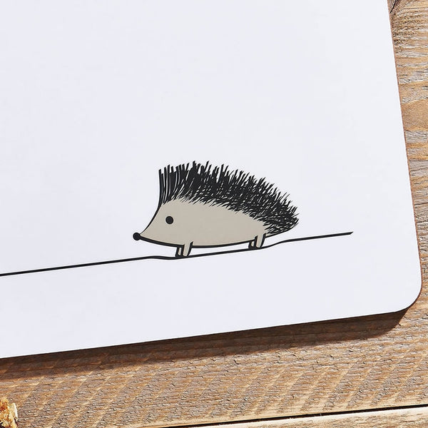 Hedgehog Placemat Close Up