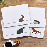 Woodland Collection Placemats, Set of 4