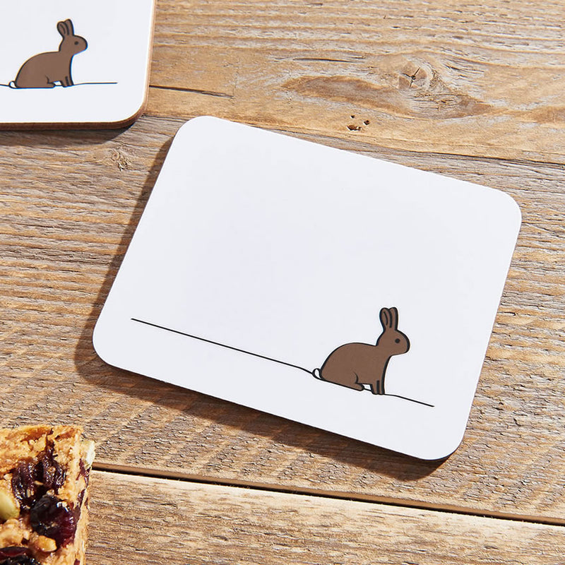Rabbit Coasters Close Up