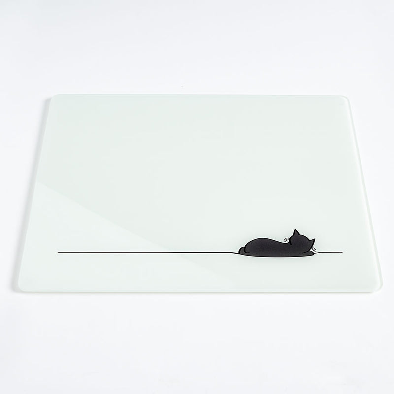Sleeping Cat Worktop Saver