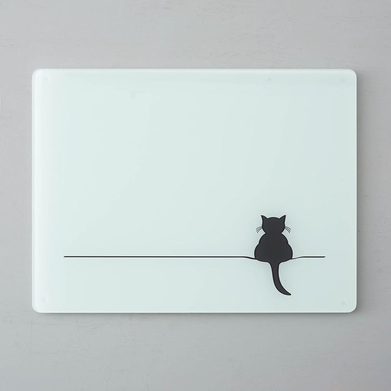 Crouching Cat Worktop Saver