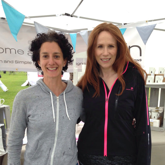 Jinny and Catherine Tate