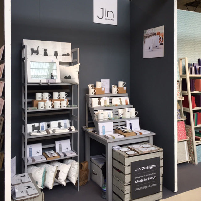 Jin Designs Trade Stand
