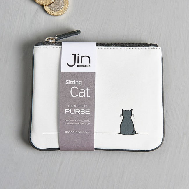 Sitting Cat Coin Purse