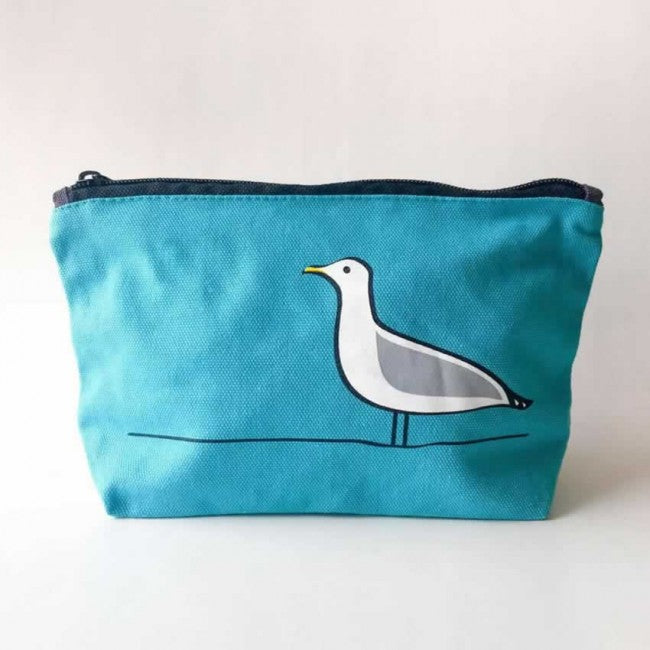 Seagull Zip Bag or Makeup Bag