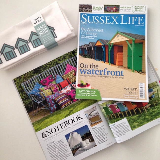 Beach Huts in Sussex Life